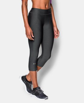 Women's UA HeatGear® Armour Capri LIMITED TIME: FREE U.S. SHIPPING 1 Color $34.99