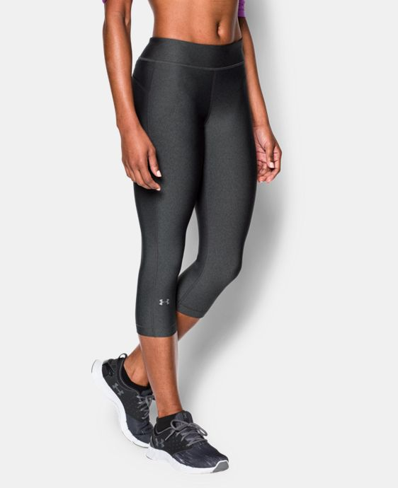 Women's UA HeatGear® Armour Capri  1 Color $34.99