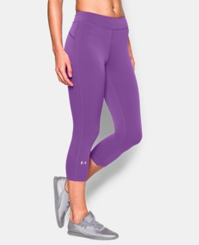 Women's UA HeatGear® Armour Capri  1 Color $26.99