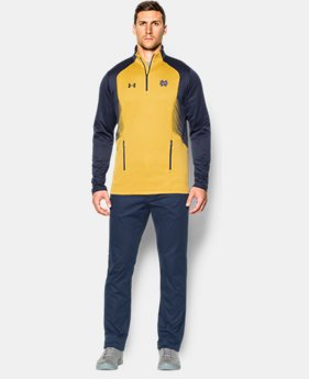 Men's Notre Dame UA Fleece ¼ Zip