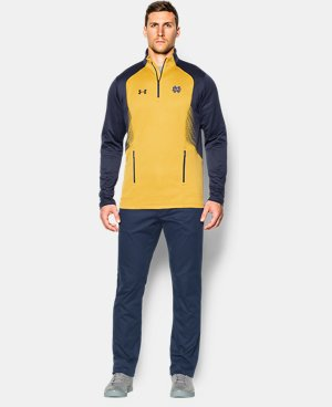 Men's Notre Dame UA Fleece ¼ Zip LIMITED TIME: FREE U.S. SHIPPING 1 Color $59.99