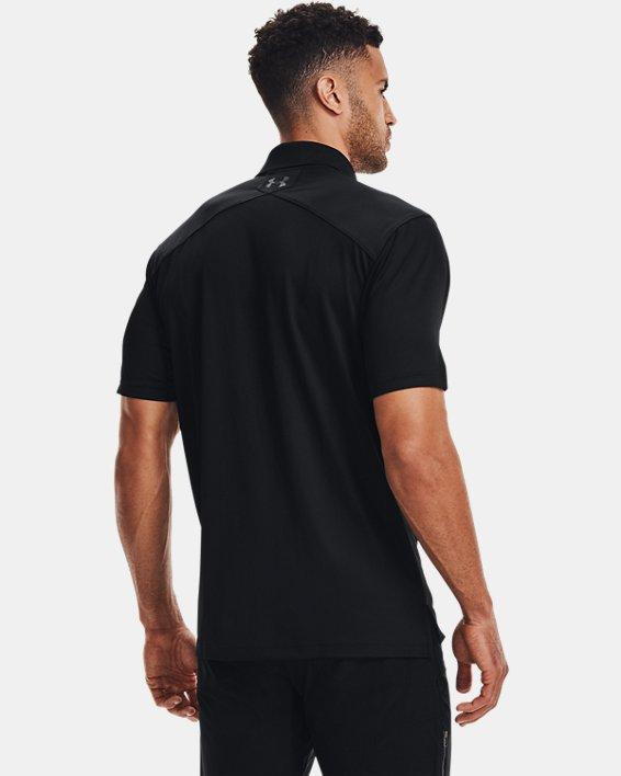 Men's UA Tactical Performance Polo, Black, pdpMainDesktop image number 4