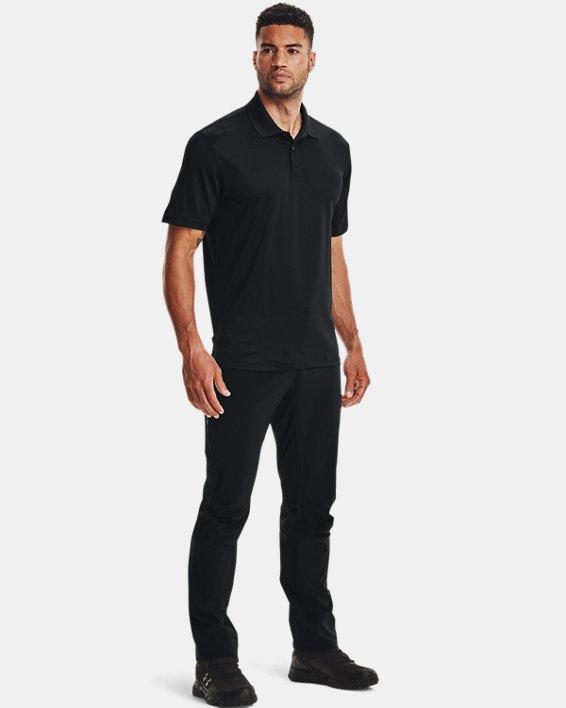 Men's UA Tactical Performance Polo, Black, pdpMainDesktop image number 3