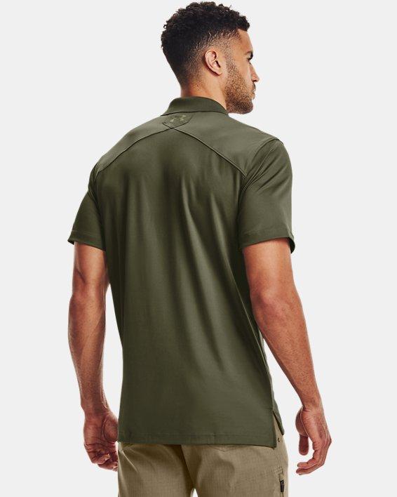 Men's UA Tactical Performance Polo, Green, pdpMainDesktop image number 4