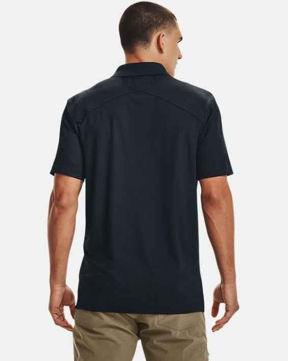Men's UA Tactical Performance Polo, Navy, pdpMainDesktop image number 4