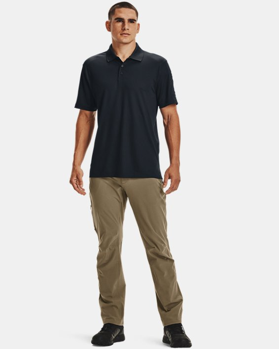 Men's UA Tactical Performance Polo, Navy, pdpMainDesktop image number 3