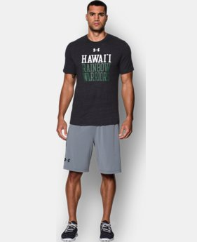 Men's Hawai'i UA Tri-Blend T-Shirt LIMITED TIME: FREE SHIPPING 1 Color $29.99
