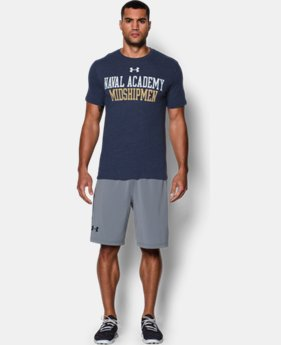 Men's Navy UA Tri-Blend T-Shirt
