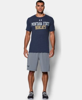 Men's Montana State UA Tri-Blend T-Shirt