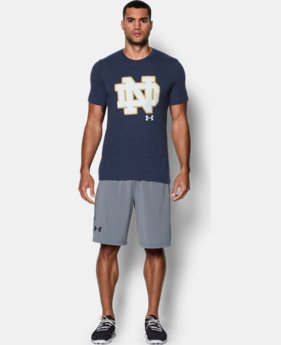 Men's Notre Dame UA Tri-Blend T-Shirt