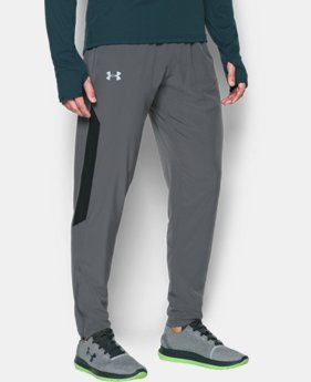 New Arrival Men's UA No Breaks Stretch-Woven Run Pants   $69.99