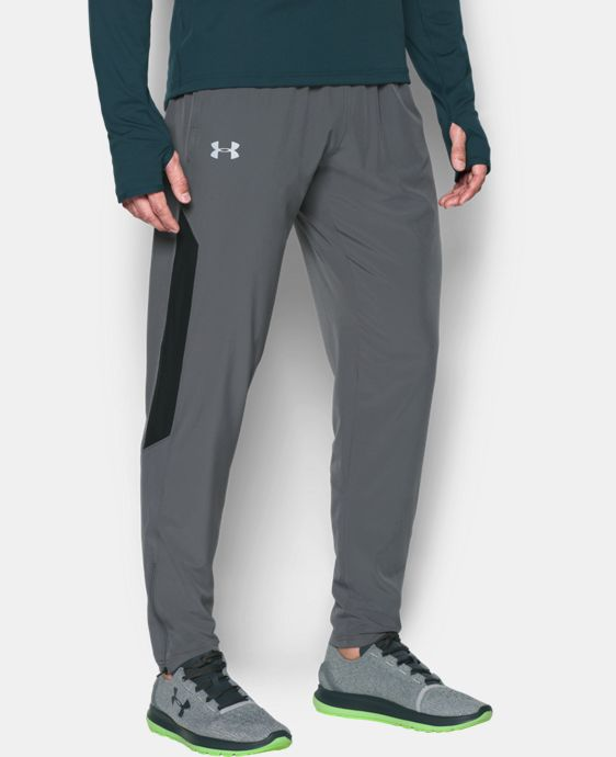 New Arrival Men's UA No Breaks Stretch-Woven Run Pants LIMITED TIME: FREE U.S. SHIPPING 2 Colors $69.99