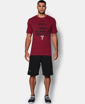 Men's Temple UA Tri-Blend T-Shirt  1 Color $17.24
