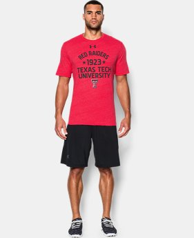 Men's Texas Tech UA Tri-Blend T-Shirt  1 Color $22.99