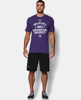 Men's Northwestern UA Tri-Blend T-Shirt
