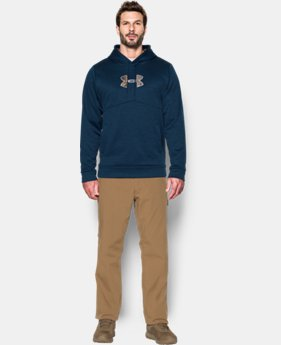 New Arrival Men's UA Storm Icon Caliber Hoodie  1 Color $64.99