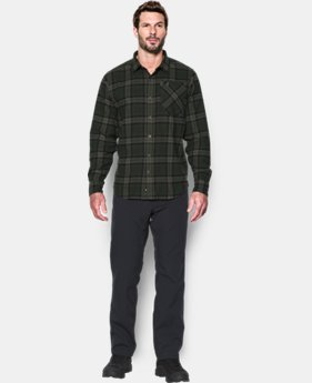 Men's UA Borderland Flannel  1 Color $79.99