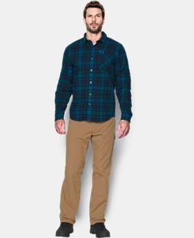 Men's UA Borderland Flannel  4 Colors $79.99