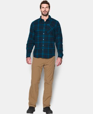 Men's UA Borderland Flannel LIMITED TIME: FREE U.S. SHIPPING 3 Colors $79.99