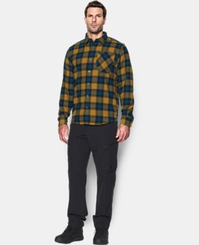 Men's UA Borderland Flannel LIMITED TIME: FREE SHIPPING 1 Color $79.99