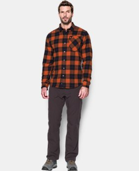 New Arrival  Men's UA Borderland Flannel LIMITED TIME: FREE SHIPPING 2 Colors $89.99