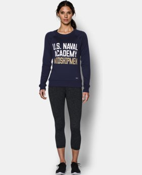 Women's Navy UA Long Sleeve Crew