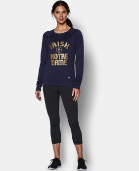 Women's Notre Dame UA Long Sleeve Crew