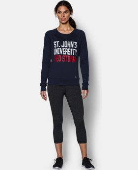 New to Outlet Women's St. John's UA Long Sleeve Crew LIMITED TIME: FREE U.S. SHIPPING 1 Color $37.99