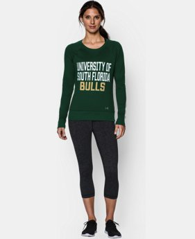 New to Outlet Women's South Florida UA Long Sleeve Crew   $37.99
