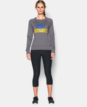 Women's South Dakota State UA Long Sleeve Crew