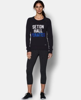 Women's Seton Hall UA Long Sleeve Crew