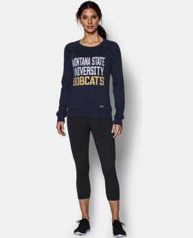 Women's Montana State UA Long Sleeve Crew