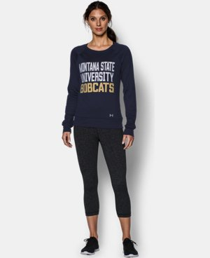 Women's Montana State UA Long Sleeve Crew   $49.99