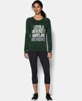 New to Outlet Women's Loyola UA Long Sleeve Crew  1 Color $37.99