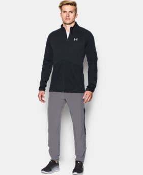 New Arrival  Men's UA NoBreaks ColdGear® Infrared Run Jacket  1 Color $104.99