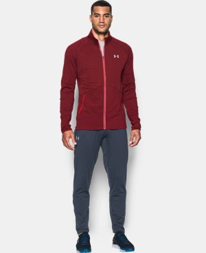 New Arrival Men's UA No Breaks ColdGear® Infrared Run Jacket LIMITED TIME: FREE U.S. SHIPPING  $89.99