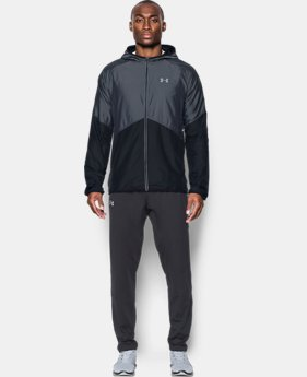 Men's UA Storm No Breaks Run Jacket   $47.99