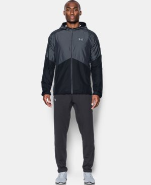 New Arrival Men's UA Storm No Breaks Run Jacket LIMITED TIME: FREE U.S. SHIPPING 2 Colors $84.99