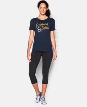 Women's Notre Dame UA Tri-Blend Shirzee T-Shirt  1 Color $22.99