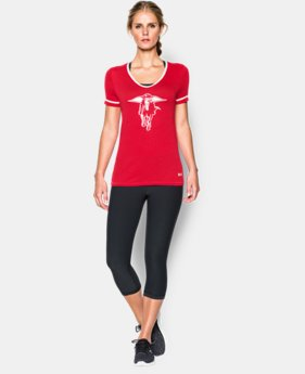 Women's Texas Tech UA Tri-Blend Shirzee T-Shirt