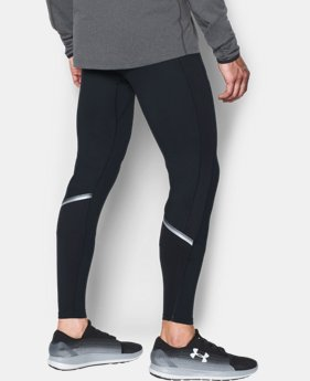 New Arrival  Men's UA NoBreaks ColdGear® Infrared Run Leggings  1 Color $79.99