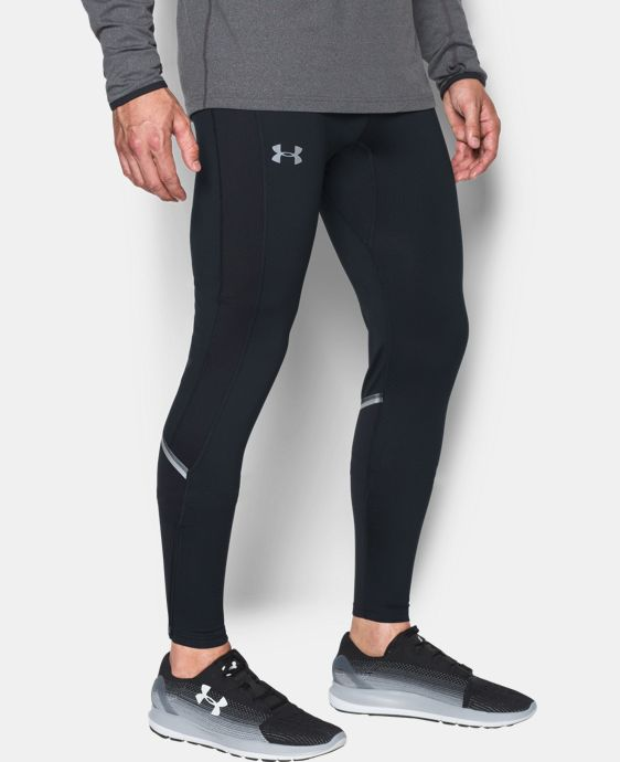 Men's UA No Breaks ColdGear® Infrared Run Leggings  3 Colors $69.99