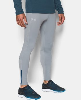 Men's UA No Breaks ColdGear® Infrared Run Leggings  1 Color $69.99