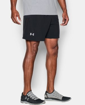 "Men's UA Performance Run 7"" Linerless Shorts   $49.99"