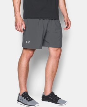 "Men's UA Performance Run 7"" Linerless Shorts LIMITED TIME: FREE SHIPPING 1 Color $37.99"