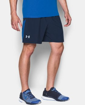 "Men's UA Performance Run 7"" Linerless Shorts   $44.99"