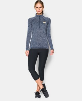 Women's Notre Dame UA Twisted Tech™ ¼ Zip