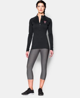 Women's Texas Tech UA Twisted Tech™ ¼ Zip