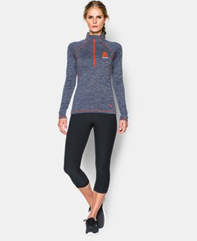 Women's Auburn UA Twisted Tech™ ¼ Zip