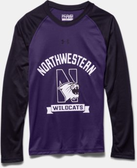 Boys' Northwestern UA Tech™ Raglan T-Shirt